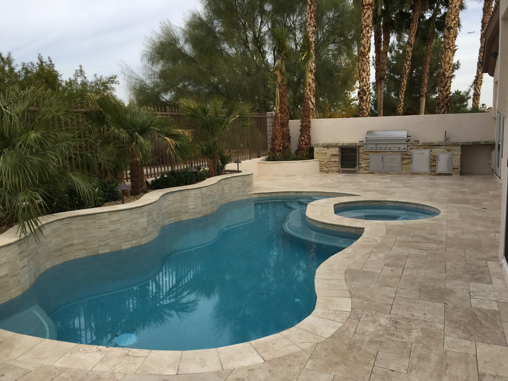 interior remodel and addition with backyard bbq patio and pool spa